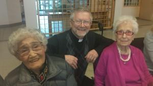 Mary Seko, Father Jim, Dorothy Sharpe