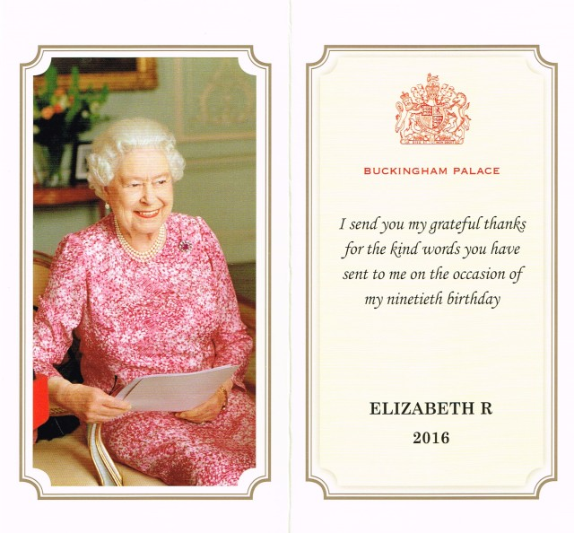 Her majesty queen elizabeth acknowledges saint georges birthday 2016 09 27 er card bookmarktalkfo Choice Image